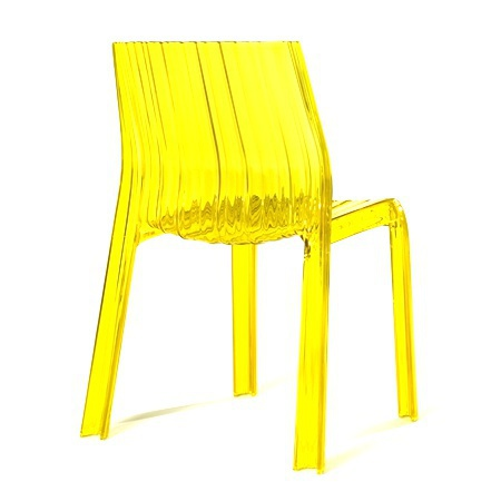 Chaise sans accoudoirs, Froncées Chair - Kartell