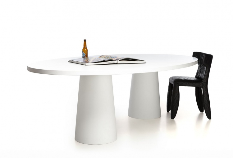 Table de forme ovale Container Oval, Moooi
