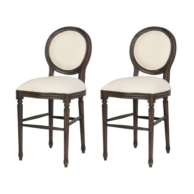 Fauteuil Allcott Counter Stool In Ash Black Stain - Set of 2
